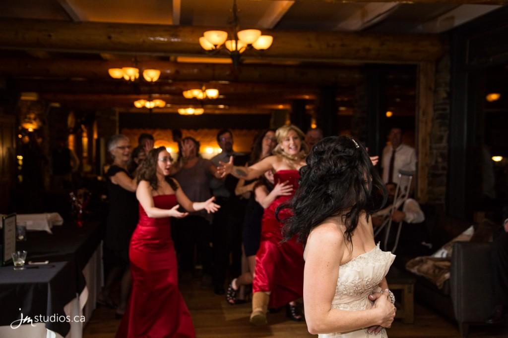 Maxine and Andrew's #Wedding at Sunshine Mountain Lodge. Images by Banff Wedding Photographer JM Photography © 2017 http://www.JMstudios.ca #JMweddings #JMstudios #JMevents #JMphotography #WeddingPhotography #WeddingPhotographers #BanffWedding #BanffBride #BanffPhotographer #BanffPhotography #SunshineVillage #WinterWedding #MountainWedding #EventCoreYYC