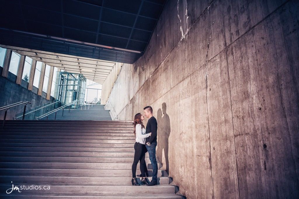 Kim and Lance's #Engagement Session in downtown Calgary. #EngagementPhotos by Calgary Engagement Photographers JM Photography © 2017 http://www.JMstudios.ca #JMweddings #JMstudios #JMphotography #EngagementPhotography #EngagementPhotos #EventCoreYYC #TheBow #Graffiti #Downtown #Chinatown