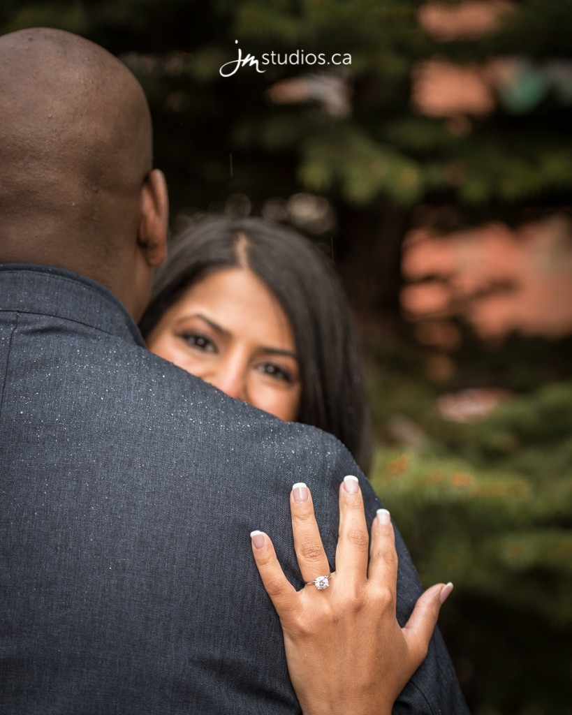 Ravi and Roxana's #Engagement created with #AbsolutelyProposals in the heart of downtown Calgary. #EngagementPhotos by Calgary Engagement Photographers JM Photography © 2017 http://www.JMstudios.ca #SheSaidAbsolutely #JMweddings #JMstudios #JMphotography #EngagementPhotography #EngagementPhotos #EventCoreYYC