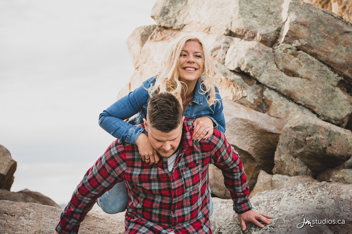 Crystal and David's #Engagement Session at The Big Rock . #EngagementPhotos by Calgary Engagement Photographers JM Photography © 2017 http://www.JMstudios.ca #JMweddings #JMstudios #JMphotography #EngagementPhotography #EngagementPhotos #EventCoreYYC