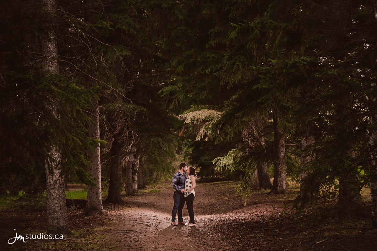 Laura and Patrick's #Engagement Session at Baker Park. #EngagementPhotos by Calgary Engagement Photographers JM Photography © 2017 http://www.JMstudios.ca #JMweddings #JMstudios #JMphotography #EngagementPhotography #EngagementPhotos #EventCoreYYC